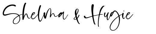 Shelma & Hugie font