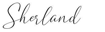 Sherland fuente