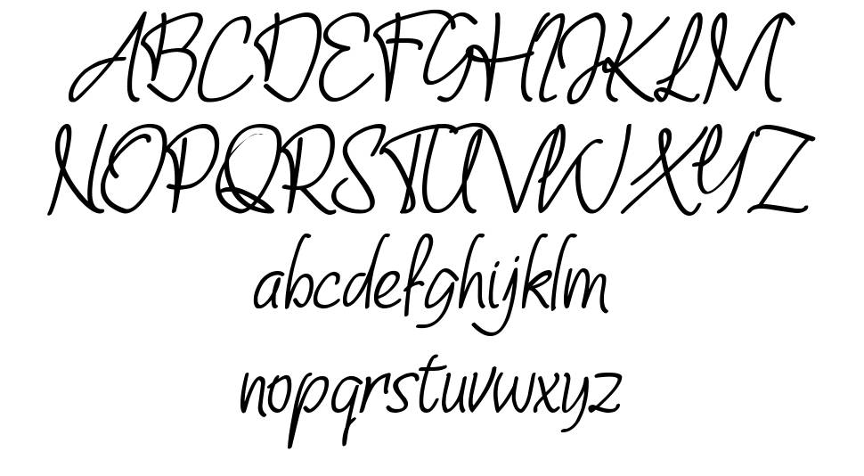 Shevana font