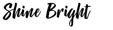 Shine Bright шрифт