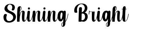 Shining Bright font