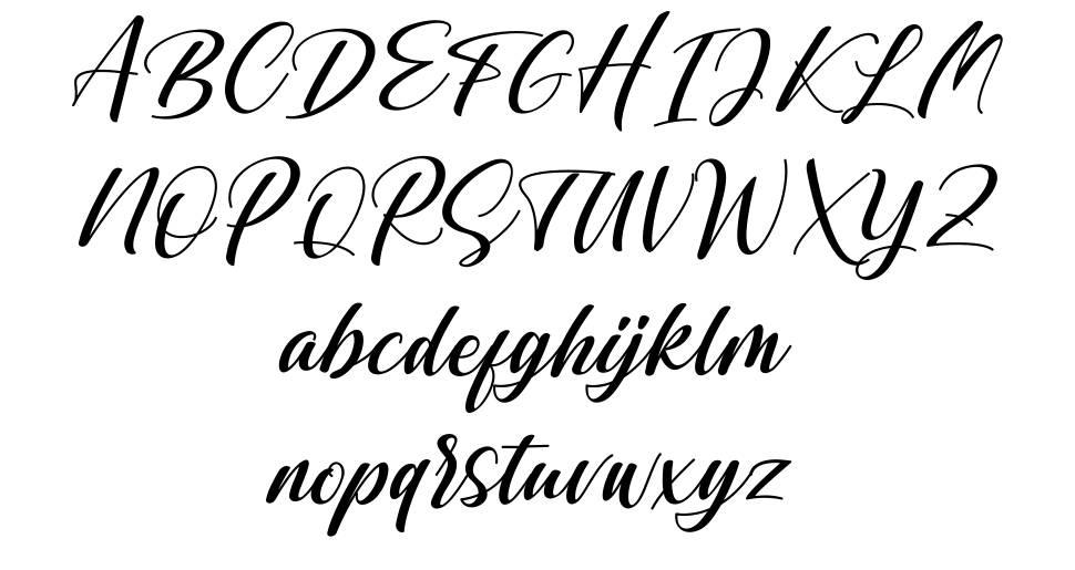 Shintyan font