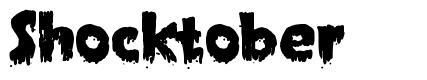 Shocktober font