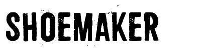 Shoemaker font