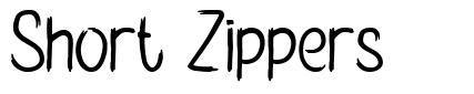 Short Zippers