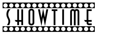 Showtime font