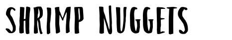 Shrimp Nuggets font