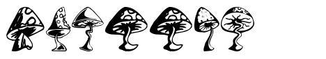 Shrooms font