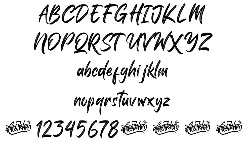 Shutterlocks font