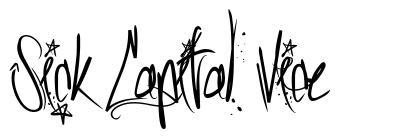 Sick Capital Vice 字形