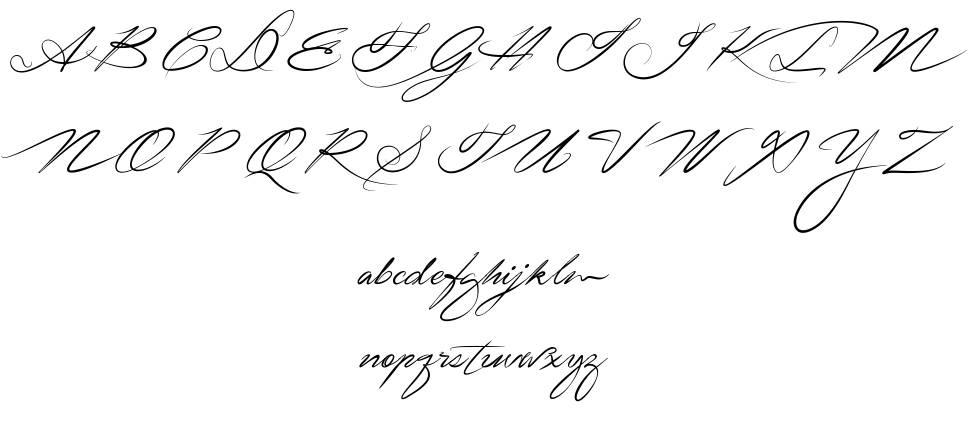 Signarita Zhai font