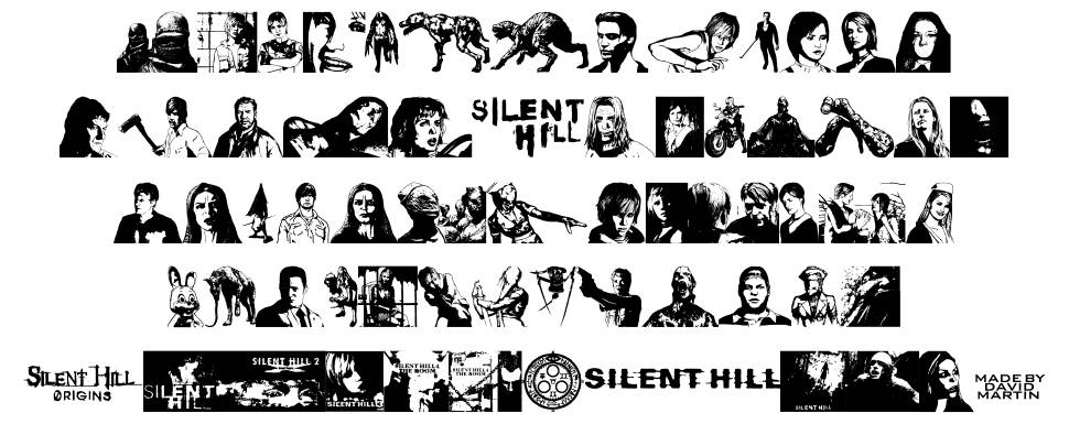 Silent Hill Nightmares फॉन्ट
