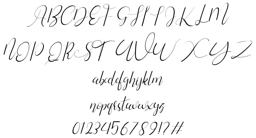 Silhouette font