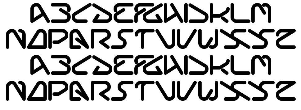 Silverbend font
