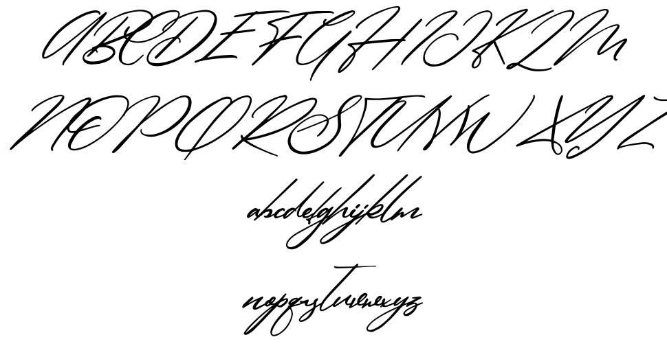 Simanice font