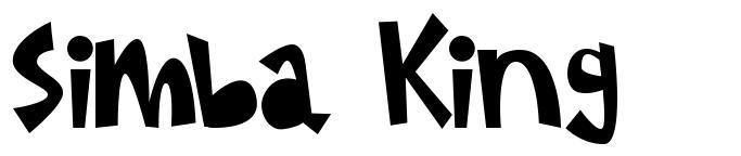Simba King font