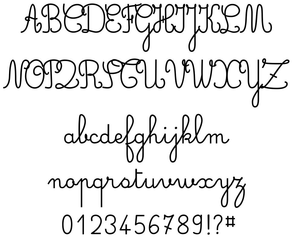 Simple Ronde font