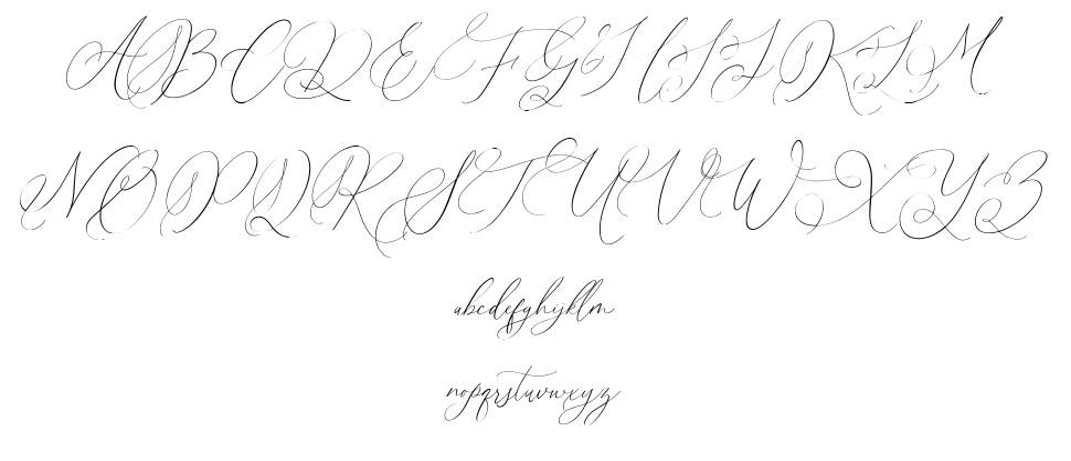 Simplicity Angela schriftart