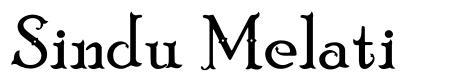 Sindu Melati font