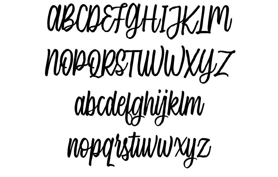 Single Brand font