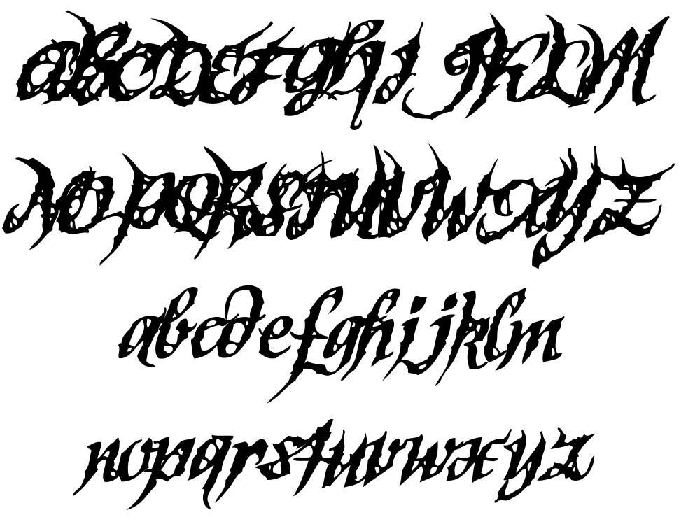 Sinner Script font