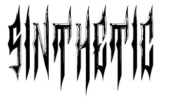 Sinthetic font
