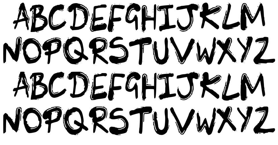SK Lunie font