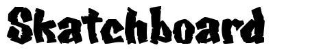 Skatchboard fonte