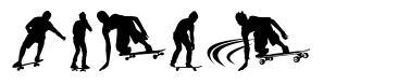 Skate font