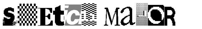 Sketch Major font