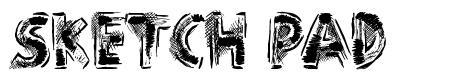 Sketch Pad font