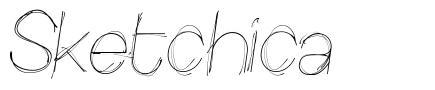 Sketchica font