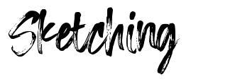 Sketching 字形