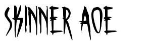 Skinner AOE font