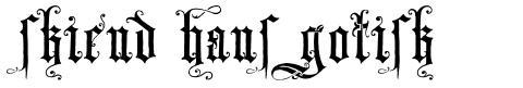Skjend Hans Gotisk
