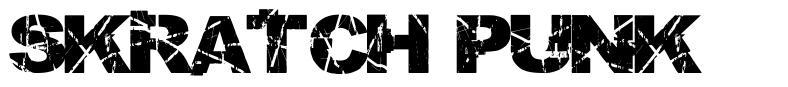 Skratch Punk font
