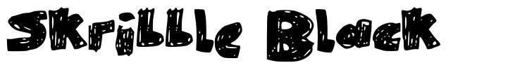 Skribble Black font