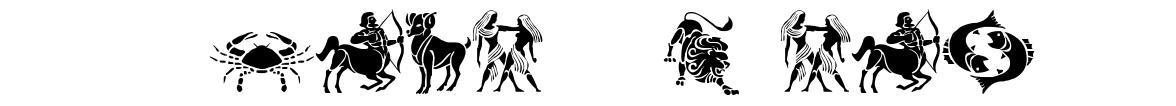 SL Zodiac Stencils