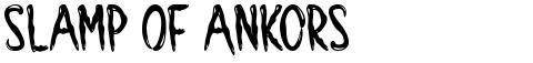 Slamp Of Ankors