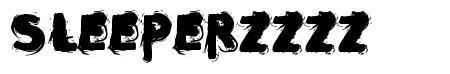Sleeperzzzz font