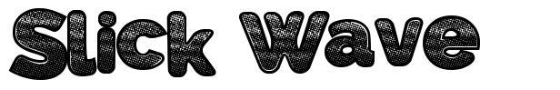 Slick Wave font