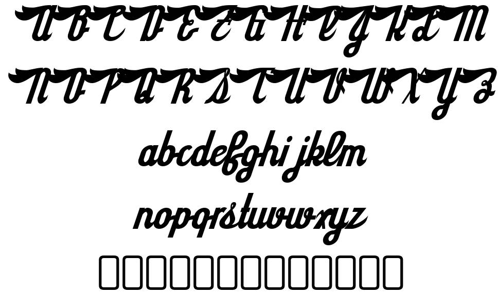 SloeGinRickey-Regular font