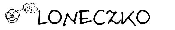 Sloneczko písmo