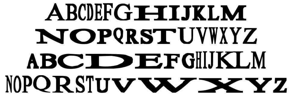 Sloopy шрифт