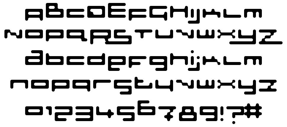 Sloth Rounded font