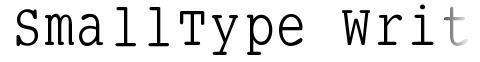 SmallType Writing