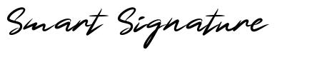 Smart Signature czcionkę