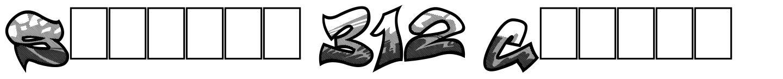 Smasher 312 Custom 字形