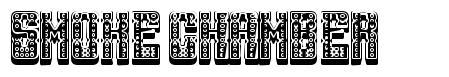 Smoke Chamber font