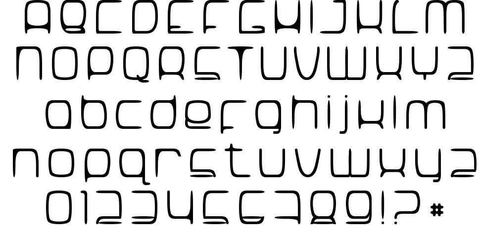 Snorg_002 font